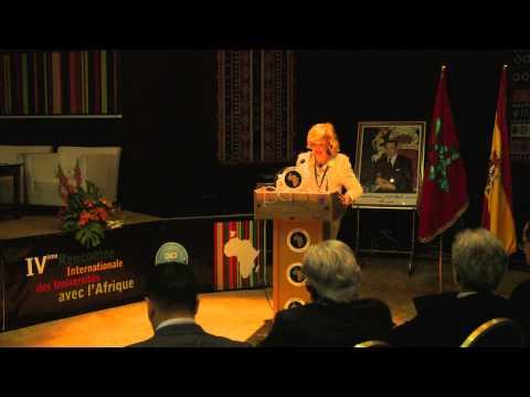 MariaTeressa 4ème Rencontre Internationale des Universités avec l'Afrique