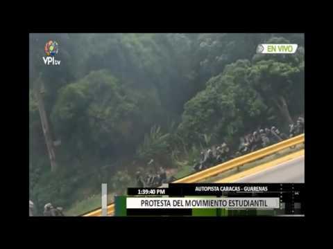 La GBN Impidió al equipo de VPI TV transmitir la represión en la UNIMET