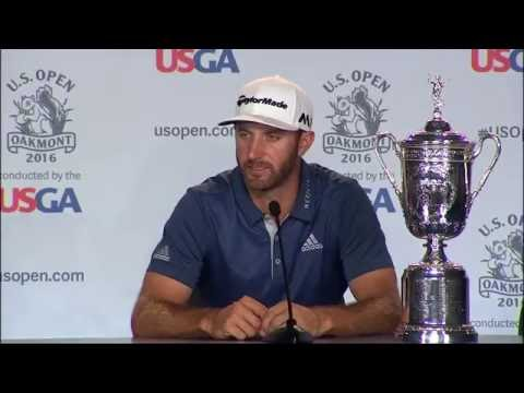 Dustin Johnson: Final Round Interview