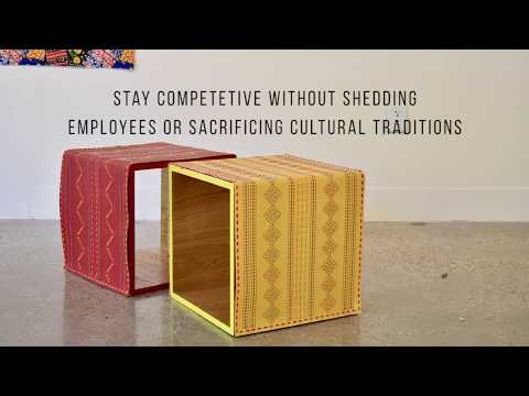 Making small batch furniture producers in India sustainable