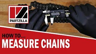 How to Measure a Motorcycle Chain | ATV Chain Length | How to Measure a Drive Chain  | Partzilla.com