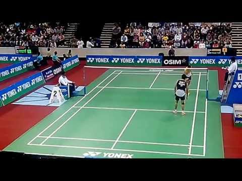 Taufik Hidayat vs Parupalli Kashyap 1/7 BEST Match BWF Yonex Badminton India Open 2013