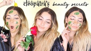 10 Arab Beauty Secrets | CLEOPATRA'S BEAUTY SECRETS REVEALED!!!