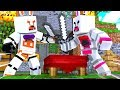 Funtime Foxy Vs Lolbit In Bed Wars (Minecraft Fnaf Roleplay Adventure)