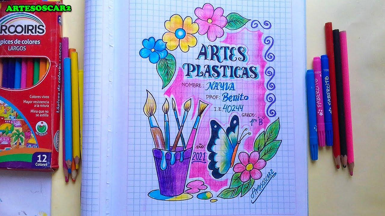 Portada De Artes Plasticas 2021 Youtube