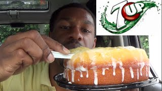 7up Lime Cake By Cafe Valley Bakery