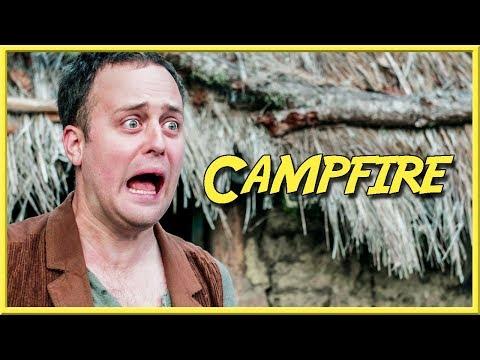 Campfire - Epic NPC Man (lighting fires and cooking food in warcraft)   Viva La Dirt League (VLDL)
