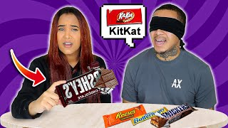 GUESS THE CHOCOLATE BAR CHALLENGE!