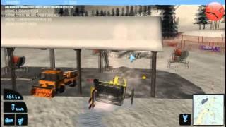Pistenraupen Simulator 2011 Gameplay (german)