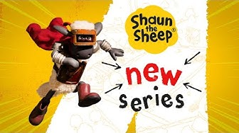 Shaun the Sheep: New Series Available Now!