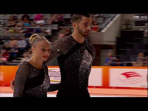 Rebecca Tarlazzi Luca Lucaroni - Short Program - senior pairs - World Roller Games barcelona 2019