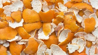 You Will Never Throw Away Orange Peels After Watching This