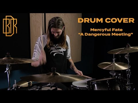 Ben Richardson - Mercyful Fate - A Dangerous Meeting - Drum Cover
