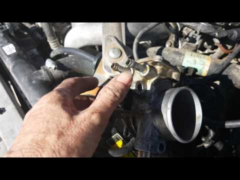 Changing iac valve 2000 corolla