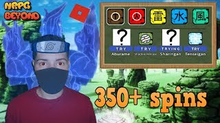 [CODE] Trying to get the Madara Susanoo KG!, 350 spins!? | Roblox: NRPG Beyond