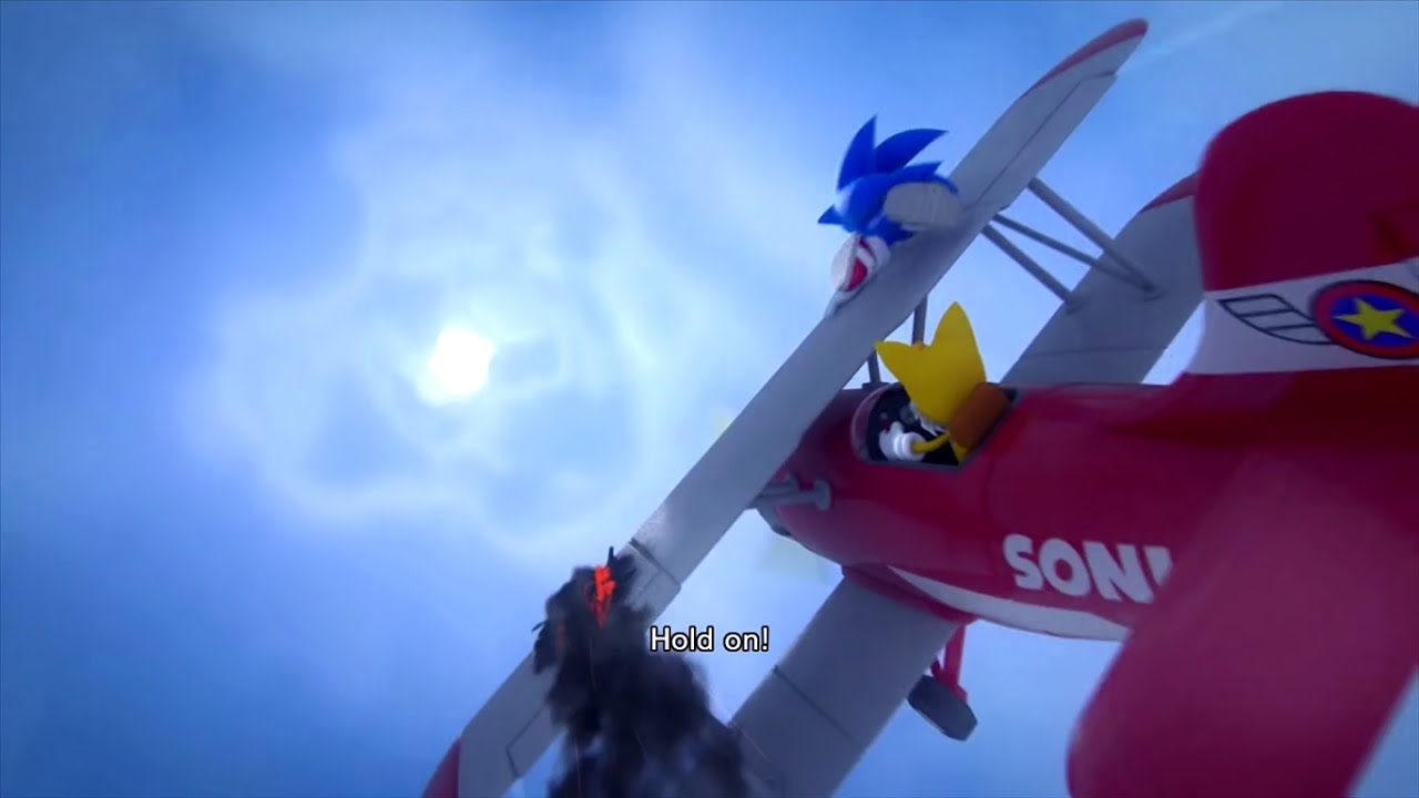 All Sonic & Tails Plane Crashes - YouTube