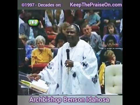 The Bishop Benson Idahosa preached about corona virus and the lockdown