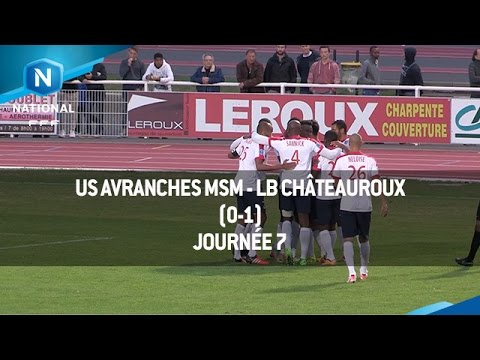 J7 : US Avranches MSM – LB Châteauroux (0-1), le résumé
