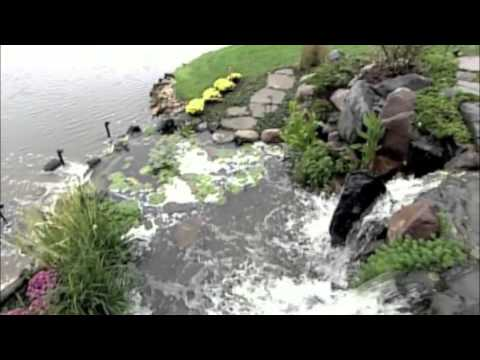 Kane Brothers Inc Fox River Falls As Seen On Hgtv Water Features Waterfall