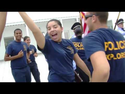 Miami Dade Schools Police Explorers Running Man Challenge
