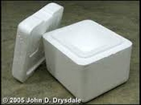 HOW TO MAKE A COOLER BOX OUT OF STYROFOAM & HOW TO MAKE A COOLER BOX OUT OF STYROFOAM - YouTube