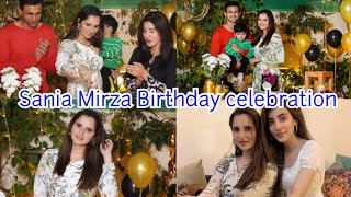 Sania Mirza came to Pakistan to celebrate her birthday with Shoaib Malik || Izhan Mirza malik