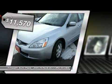 2005 Honda Accord Sedan Brookings Sd F5072a Youtube