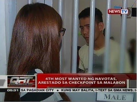 QRT: 4th most wanted ng Navotas, arestado sa checkpoint sa Malabon