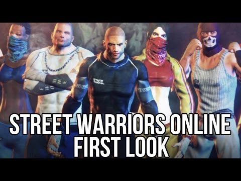 Street Warriors Online (Free Online Fighting Game): Watcha Playin'? Gameplay First Look