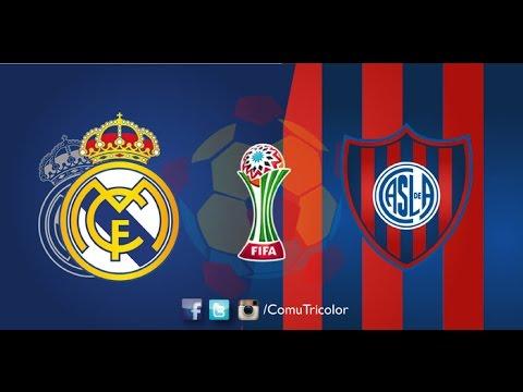 FINAL DO MUNDIAL DE CLUBES DA FIFA 2014 REAL MADRID X SAN LORENZO - YouTube