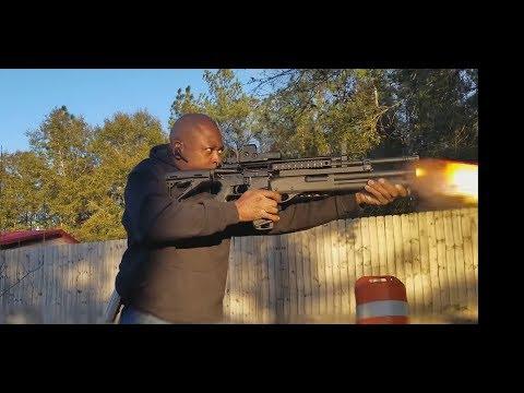 Colt 6940 W/ Knights Armament 12ga. Master Key
