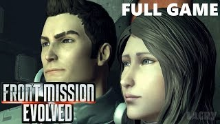 Front Mission Evolved Full Walkthrough Gameplay - No Commentary Longplay (PS3)