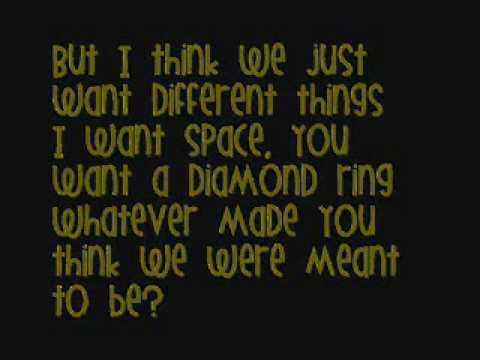 Every Avenue - Tell Me I'm A Wreck - Lyrics