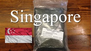 MRE Review: Singapore 24 Hour Ration ~Minus Accessory Packet~