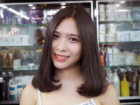 Vua Tóc Nguyễn Duy với mẫu tóc Uốn Cúp & Nhuộm đẹp mê hồn