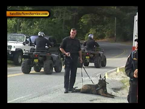 WEST BARNSTABLE, MA- Extensive Police Search for Trudie Hall- Rt 149 @ Service Rd (08-09-10)