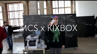 MCS x KIXBOX Lookbook Backstage