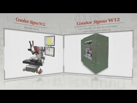 Condor Sigma Bond Tester Integrated In Rorze Wafer Handler For Fully Automatic 300mm Wafer Testing