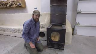 ABC acres: Rocket Mass Heater Start (and) Batch Box Plans - episode #057