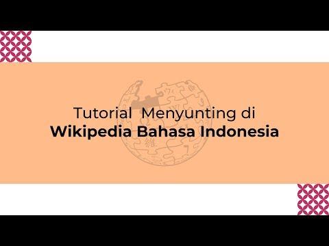 Tutorial Menyunting Di Wikipedia Bahasa Indonesia
