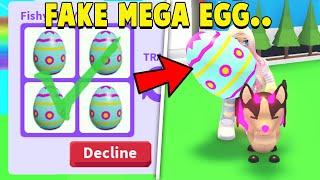 I Expose *FAKE* MEGA EGGS in Adopt Me!