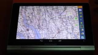 Использование OziExplorer на Android