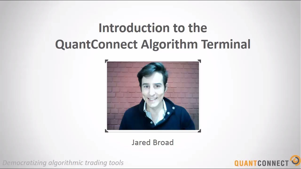 Algorithmic Trading Platform - QuantConnect com
