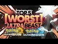 Top 5 WORST Ultra Beasts in Pokemon Ultra Sun and Pokemon Ultra Moon