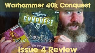 Warhammer 40000 Conquest Issue 4 Magazine Review