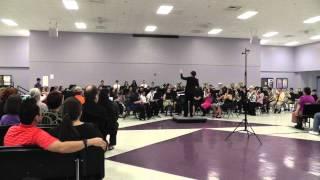 Two British Folk Songs - Livingston Parish Middle School Honor Band 2013