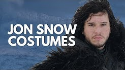 🐺 🐲 The Costumes of Jon Snow (Costumes of Ned Stark and Jon Snow)