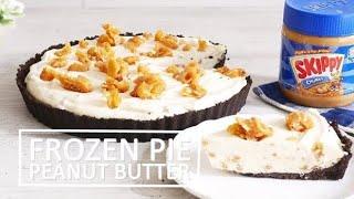 SKIPPY® Frozen Peanut Butter Pie Recipe