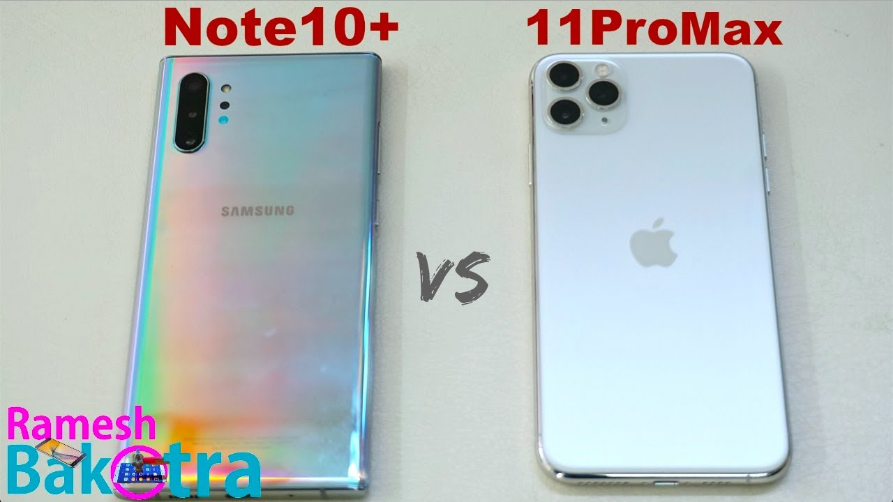Iphone 11 vs samsung note 10 plus