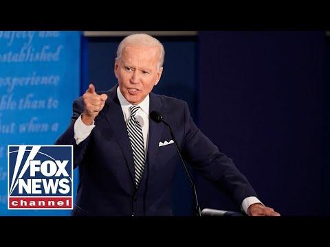 Biden defends son Hunter after Trump brings up drug use